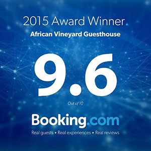 2015 Award Winner on Booking.com